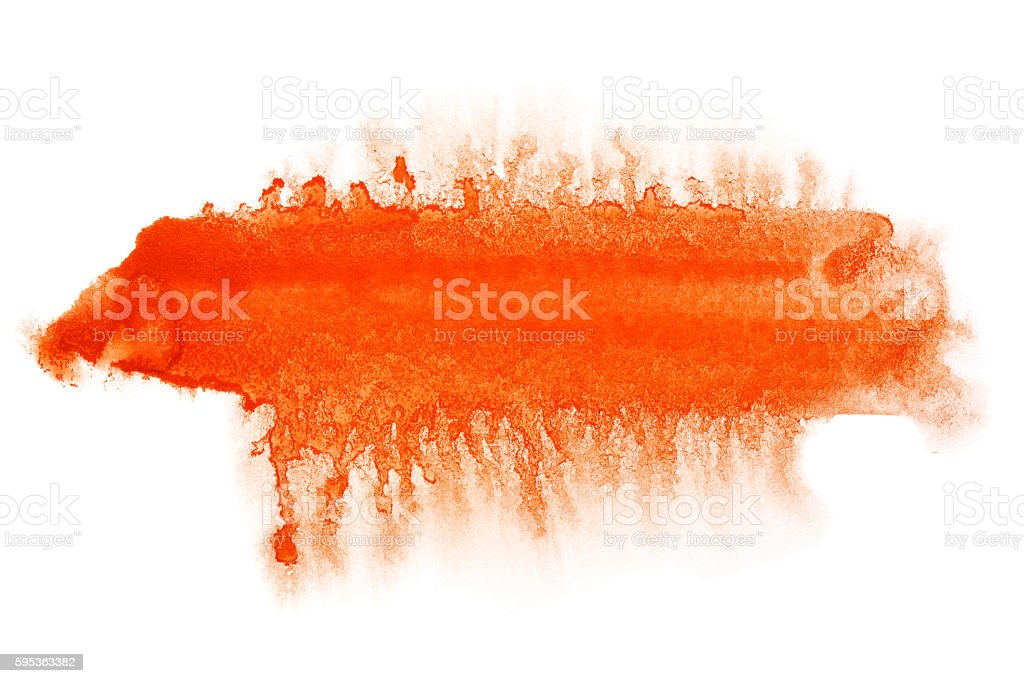 Red watercolor thick line stock photo