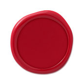Red Wax Seal Stamp