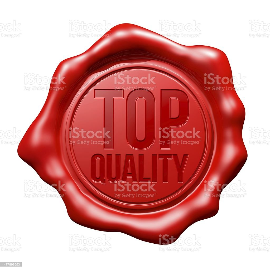Red Wax Seal : Top Quality stock photo