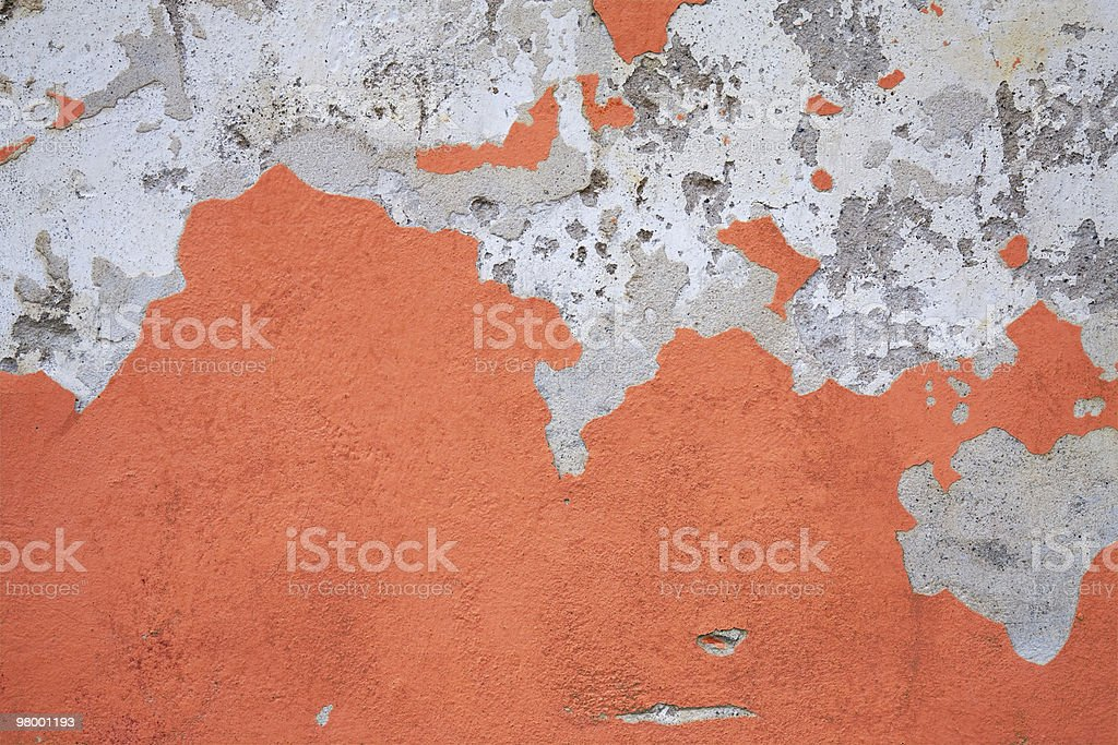 Red weathered wall royalty-free stock photo