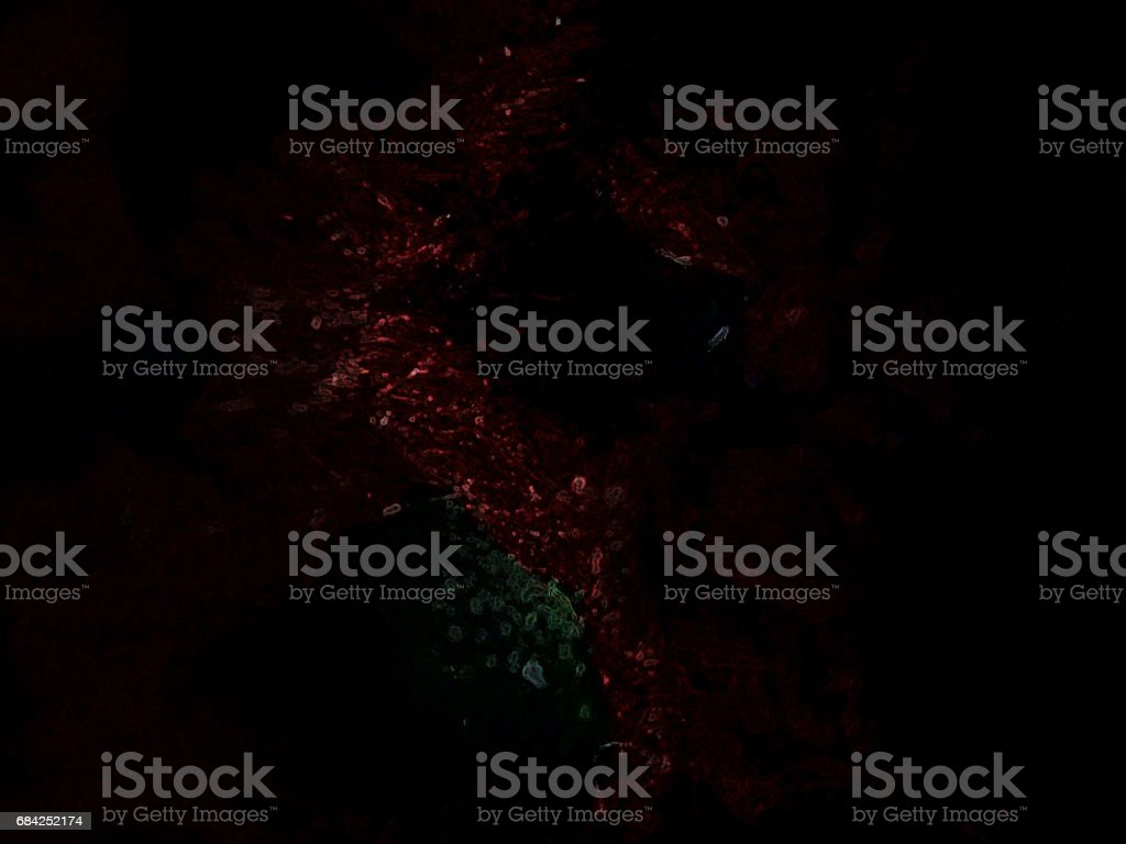 red well in to the black universe royalty-free stock photo