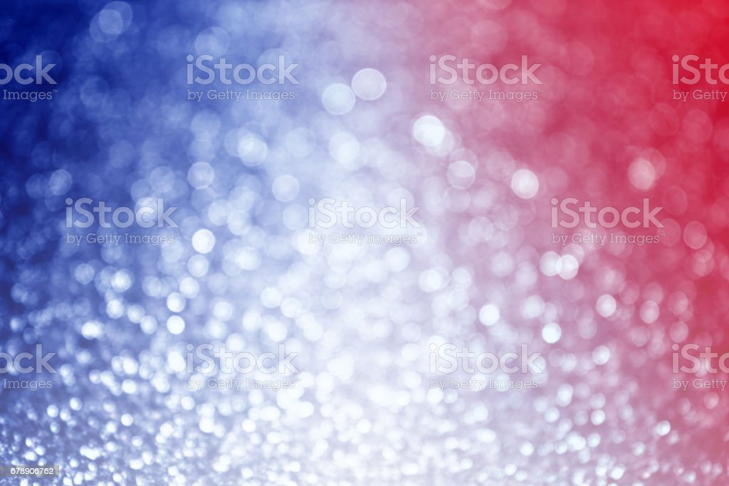 Red White and Blue Blur stock photo