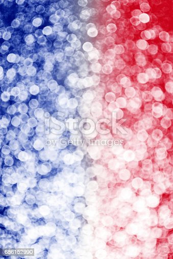 680789648 istock photo Red White and Blue Blur Sparkle Background 686152990