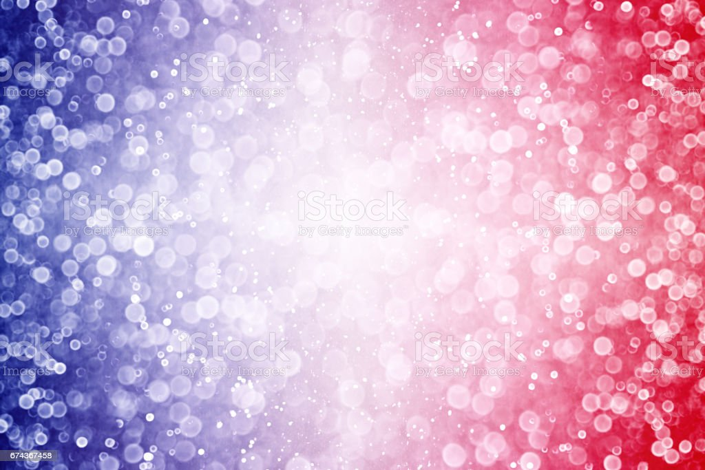 Red White and Blue Explosion Background stock photo