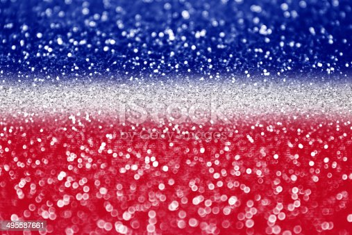 680789648 istock photo Red white and blue glitter 495587661