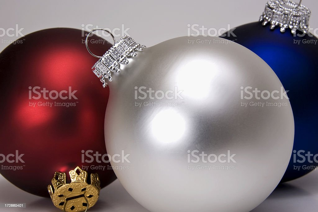 Red, White and Blue stock photo