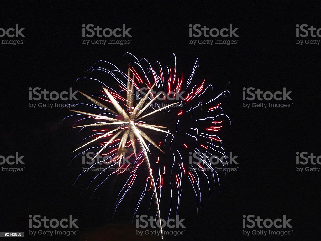 Red, White, and Blue royalty-free stock photo
