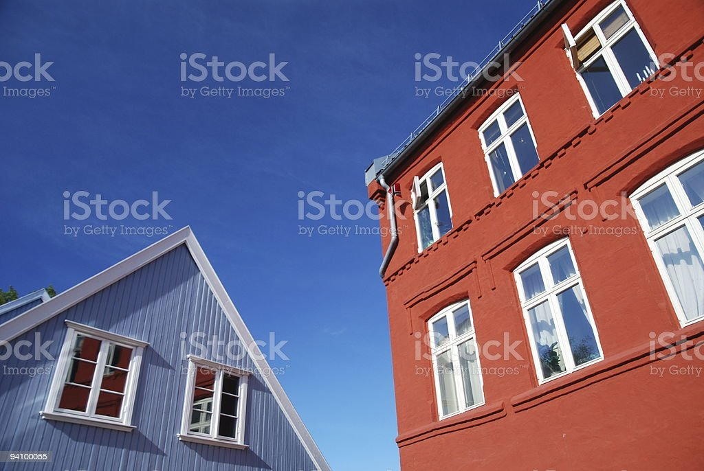 Red white and blue. stock photo