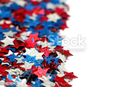 istock Red, White and Blue Stars 508026042