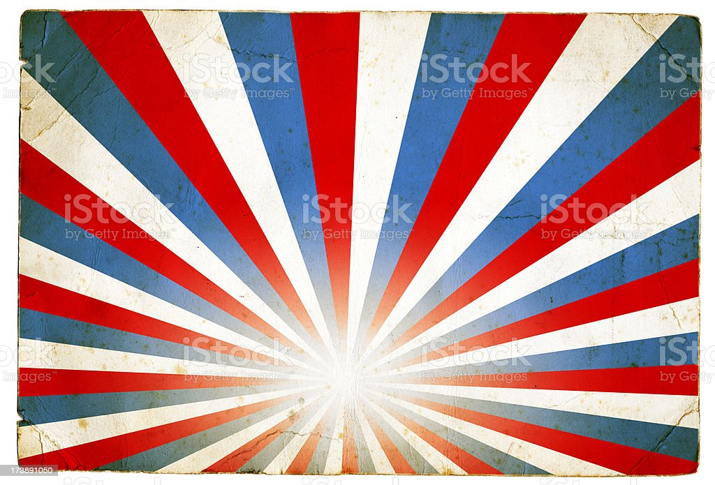 Red White and Blue Stripe Pattern royalty-free stock photo