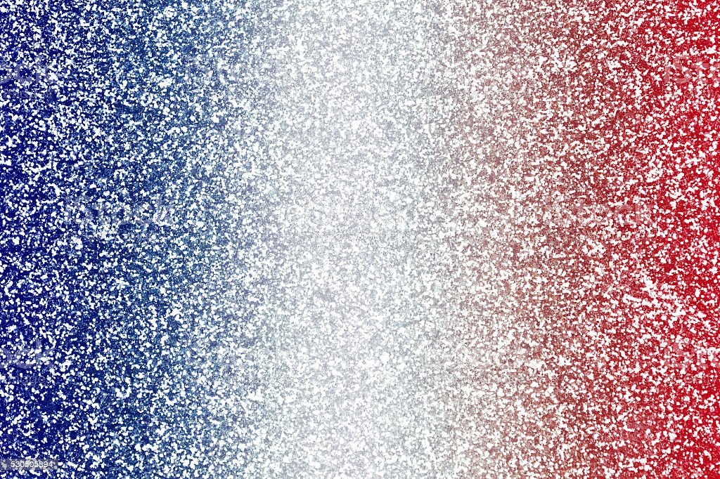 Red White Blue Glitter Texture stock photo