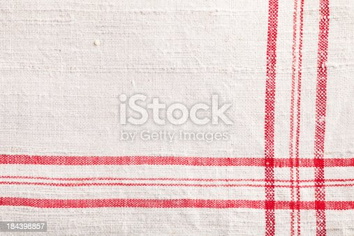 antique dish towel close up, fabric was made between 1900-1920, usefull for cooking  topics