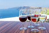 Red, white & rose wines