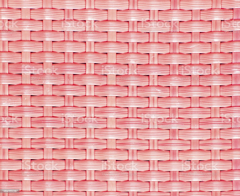 Red wicker chair pattern background. royalty-free stock photo