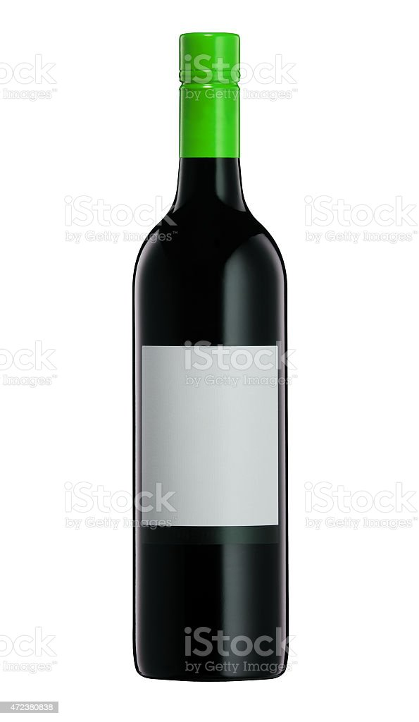 red wine and a bottle stock photo