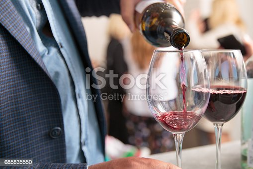 istock Red Wine Being Poured In The Glass 685835550
