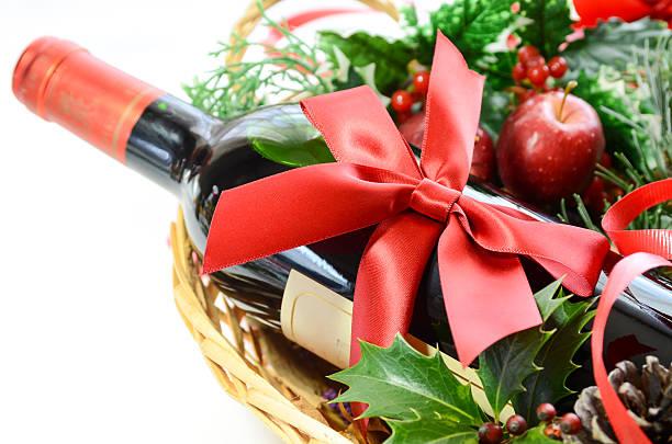 Flasche Wein für eine party – Foto