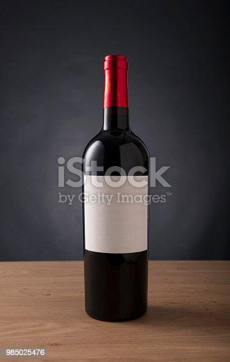 wine bottle, red wine, label, drink