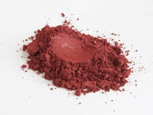 Red wine mica pigment powder for cosmetic – zdjęcie