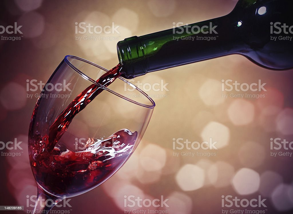 Red Wine - Royalty-free Alcohol - Drink Stock Photo