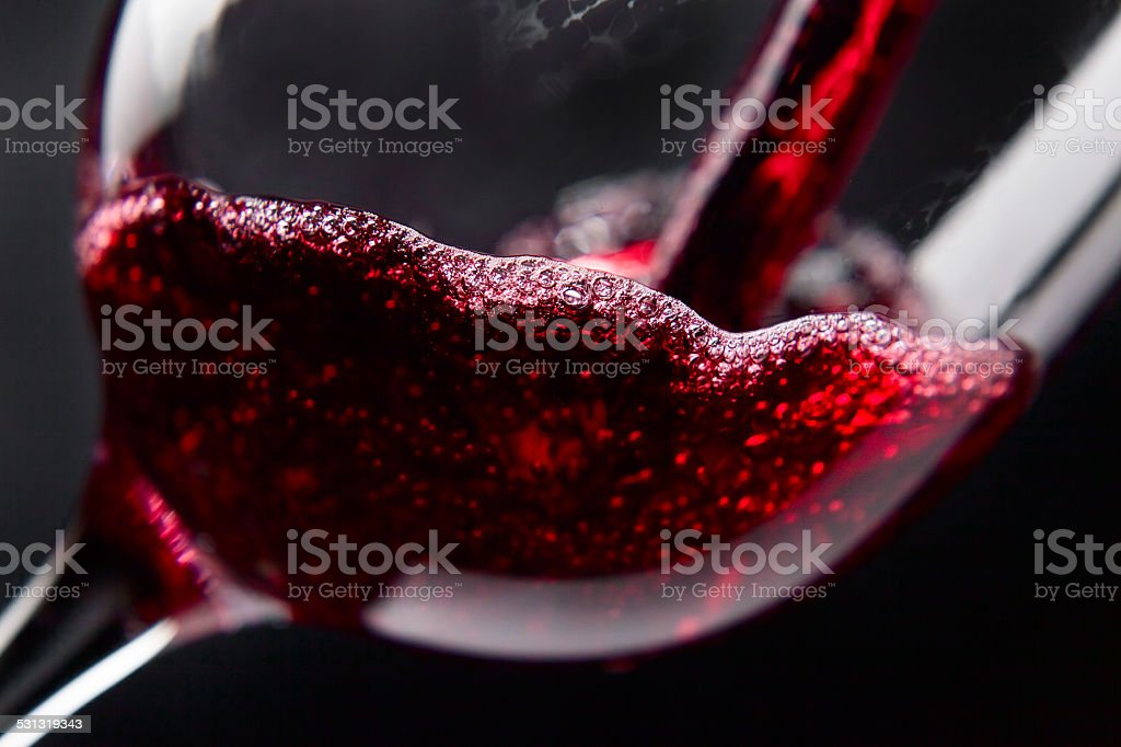 Red wine stock photo