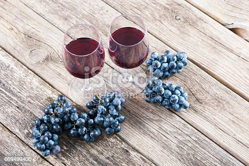 istock Red wine 669499400