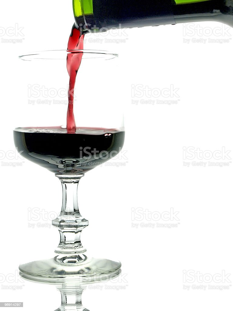Rotwein royalty-free stock photo