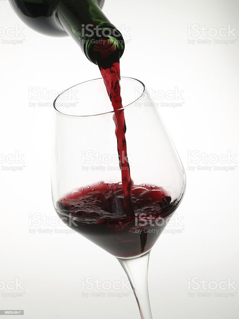 Red wine. royalty-free stock photo