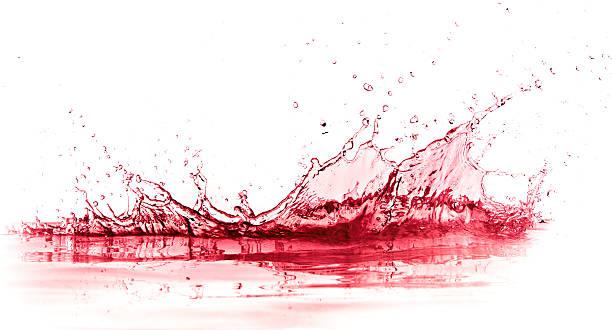 red wine splash – Foto
