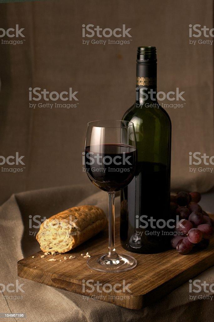 Red Wine Stillife royalty-free stock photo