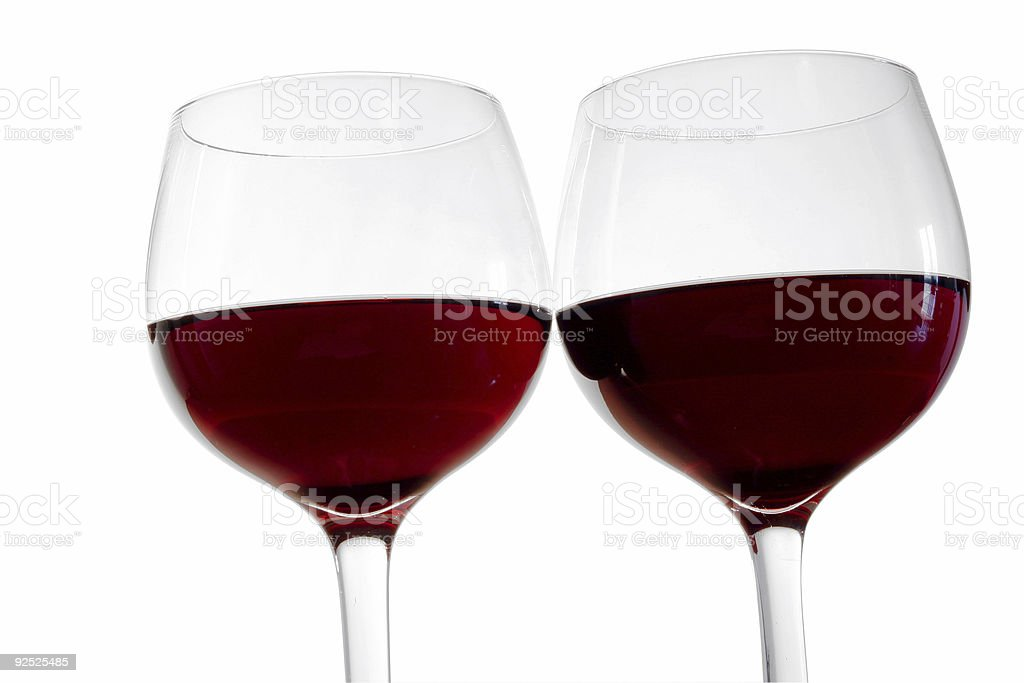 Red Wine Toast royalty-free stock photo