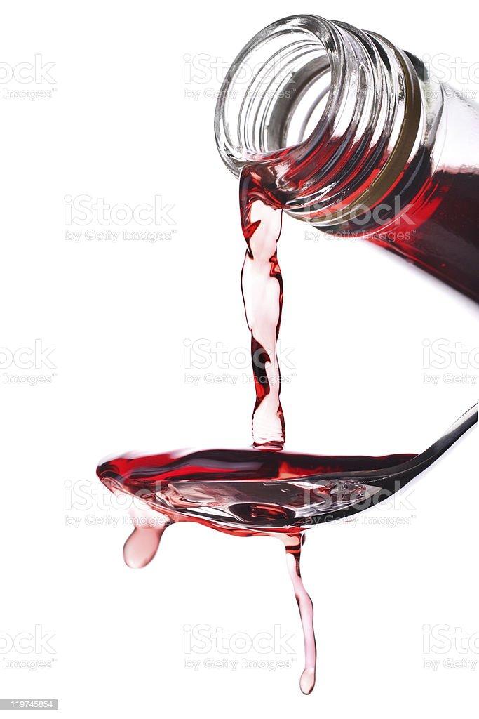 Red wine vinegar royalty-free stock photo