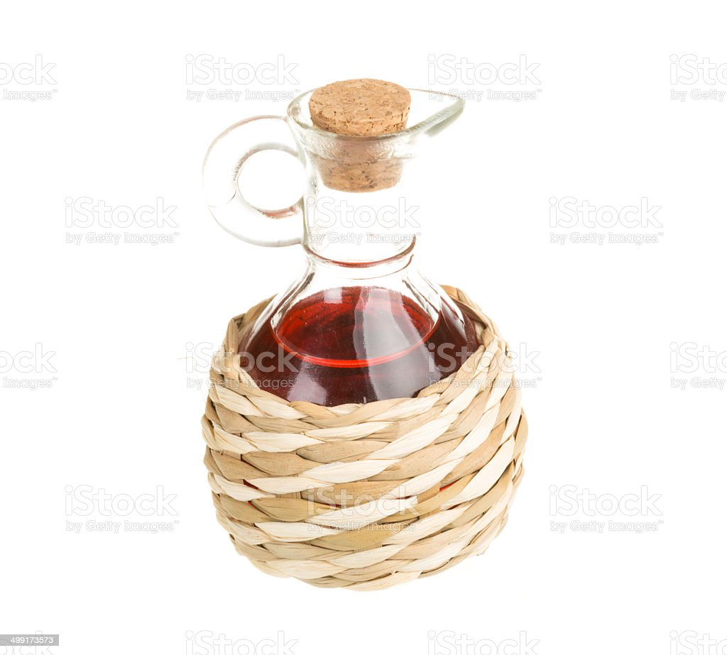 Red Wine Vinegar royalty-free stock photo