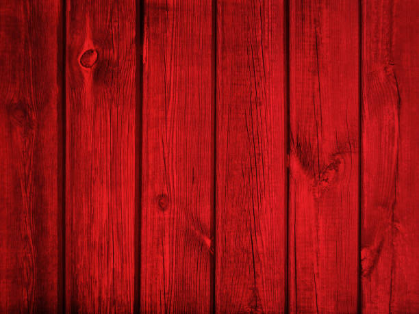 Red wood background Vintage Red Painted Wooden Planks Background Texture. Old Wood Wall, Floor or Table redwood tree stock pictures, royalty-free photos & images