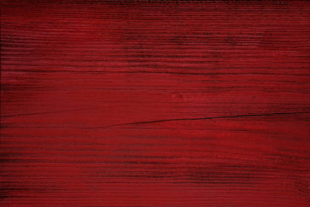 Red wood background Close up on wood planks panel. Color treatment and vignetting made with Photoshop. redwood tree stock pictures, royalty-free photos & images