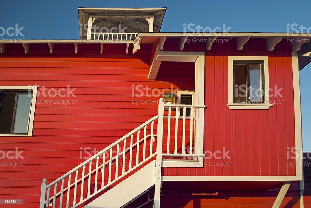 Legno rosso foto stock royalty-free
