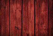 Close up on wood planks panel. Color treatment made with Photoshop.