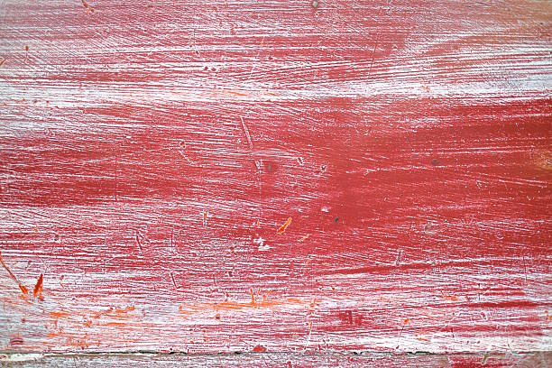 red wooden plank texture background – Foto