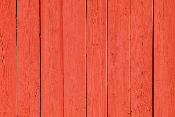 Red wooden texture background Close up on wood planks panel. Red color management made with Photoshop. redwood tree stock pictures, royalty-free photos & images