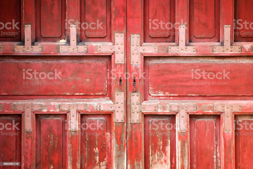 Red wooden wall 免版稅 stock photo