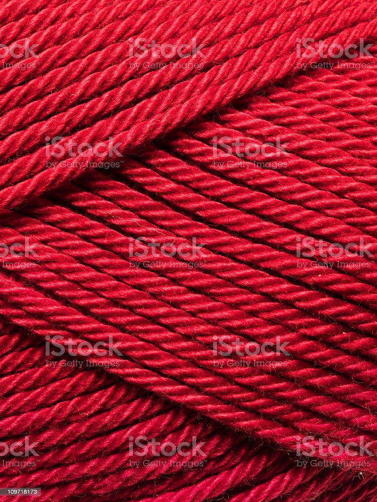 Red Yarn Background royalty-free stock photo