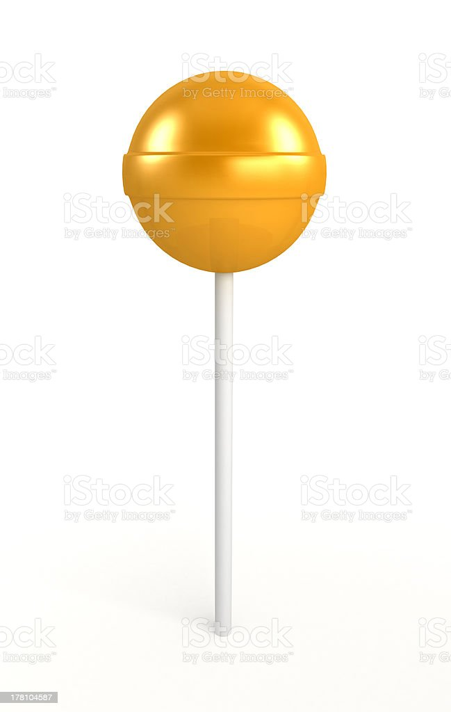 Red, yellow and green lollipop royalty-free stock photo