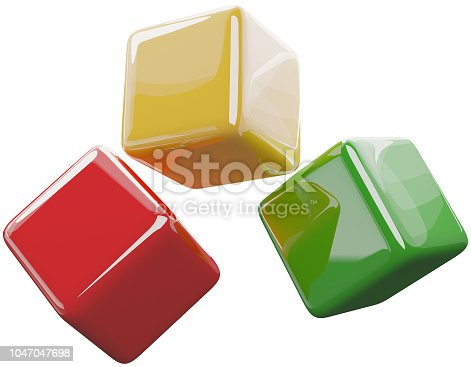 istock red yellow green 3d-illustration 1047047698