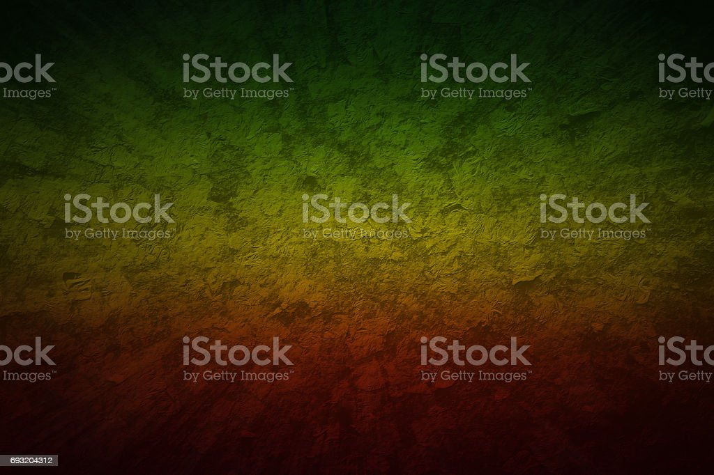 Red, Yellow, Green color reggae style. Grunge motion speed background blank for design stock photo