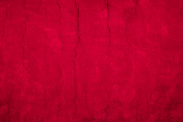 Red-black grunge style-concrete wall-stone wall stock photo