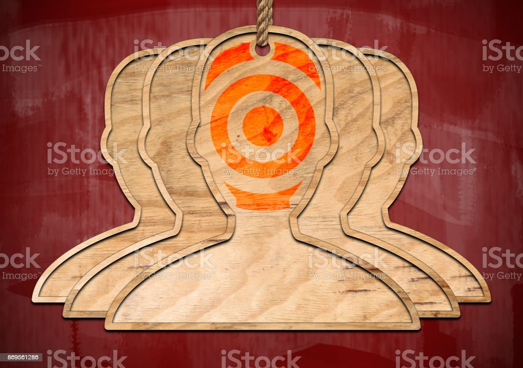 TARGET / Redboard concept (Click for more) stock photo