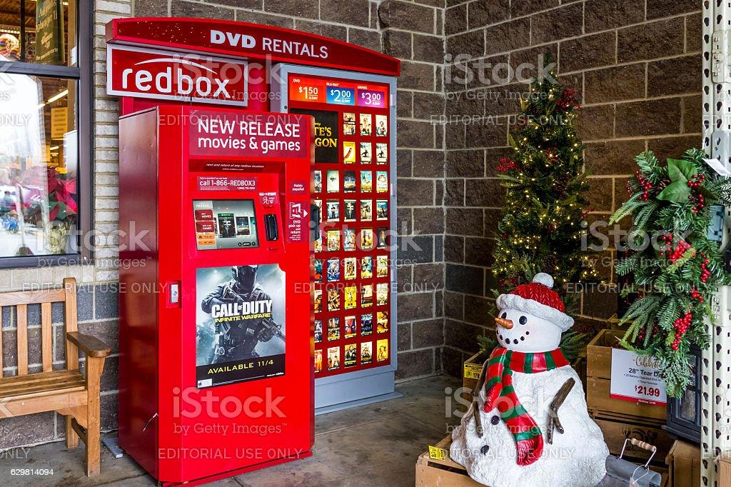 redbox machine by wegmans store royalty free stock photo - Is Wegmans Open On Christmas