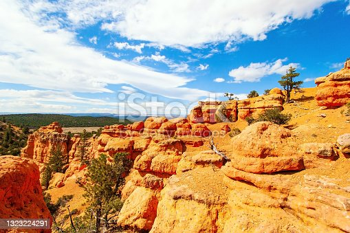 istock Red-brown canyon 1323224291