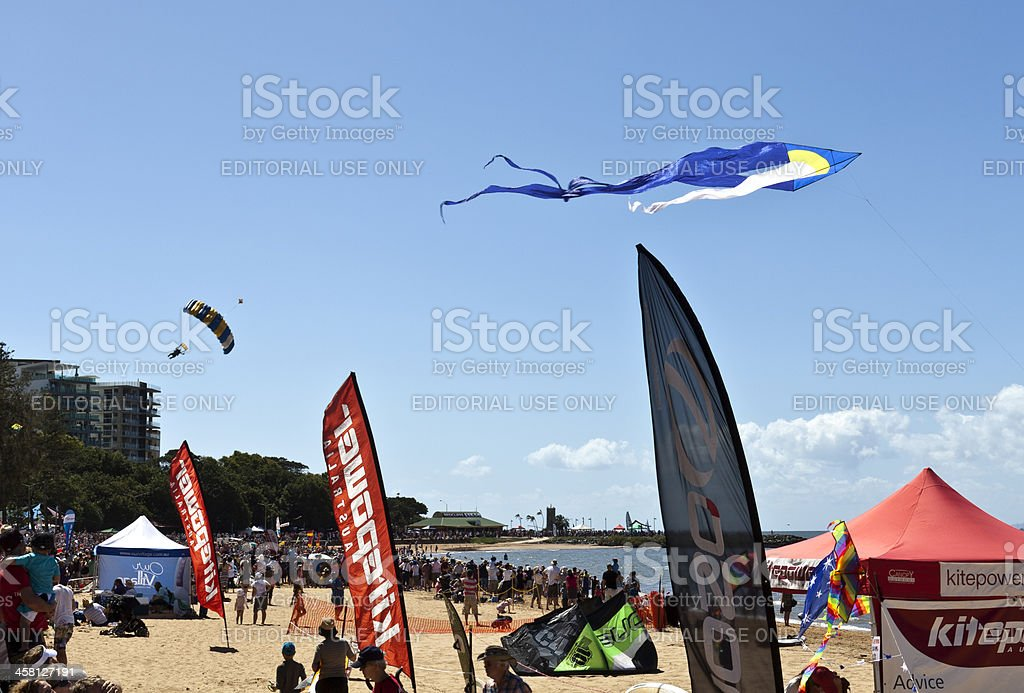 Redcliffe Festival of Sails royalty-free stock photo