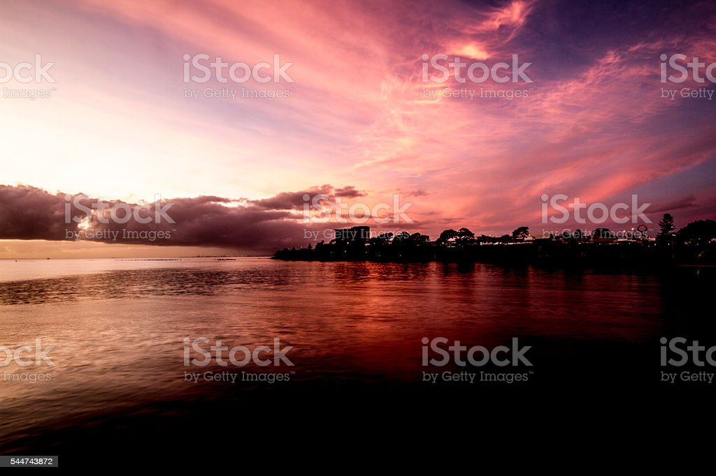 Redcliffe on a Summer's morning stock photo